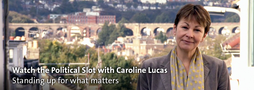 Watch Caroline Lucas